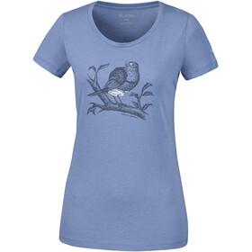 Columbia Birdy Buddy Shortsleeve Tee Damen blue dusk